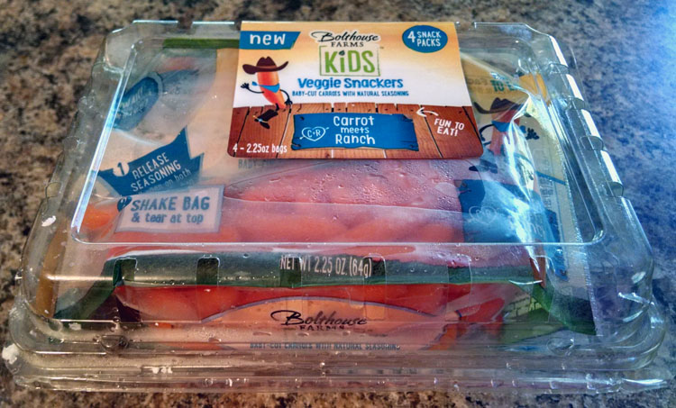 Bolthouse Farms Kids Veggie Snackers