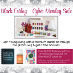 Young Living Essential Oils Black Friday - Cyber Monday Sale