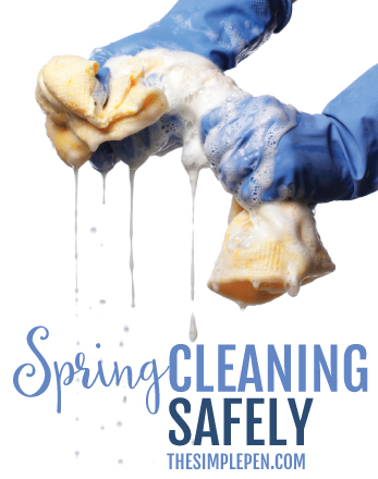Spring Cleaning Safely
