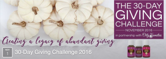 30-Day Giving Challenge Event