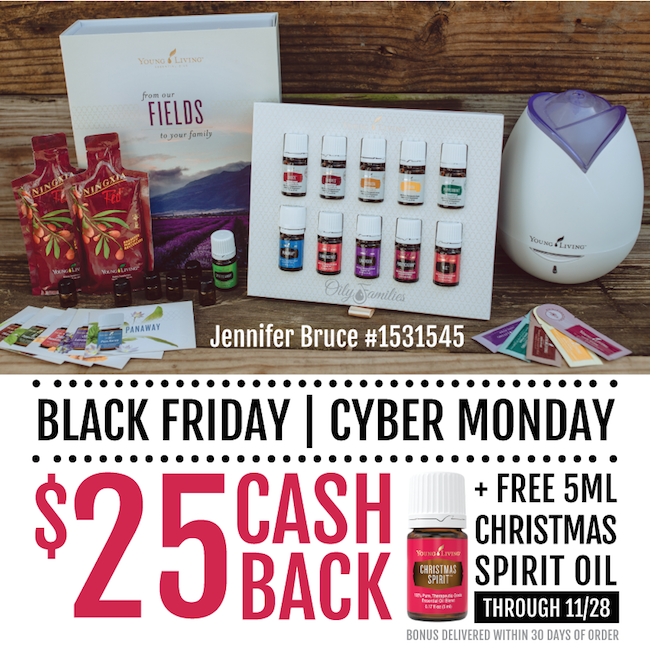 Young Living Black Friday | Cyber Monday Sale